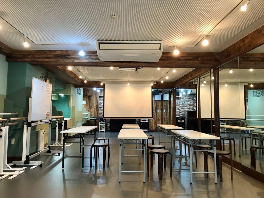 原宿レンタルスペース 座学 英語教室 習字教室