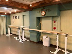 原宿MOAスタジオ バレエバー