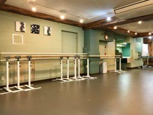 渋谷区 バレエスタジオ 原宿MOAスタジオ バレエバー